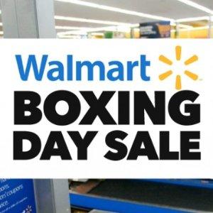 55寸 4K电视$298  部分好价已开始Walmart  沃尔玛 Boxing Week 海报出炉,订好闹钟抢哦