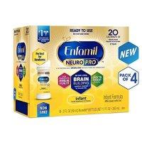 Enfamil NeuroPro婴幼儿液体奶, 2盎司,24瓶