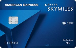Earn 10,000 bonus miles. Terms Apply.Delta SkyMiles® Blue American Express Card