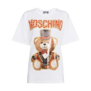 Moschino泰迪熊T恤