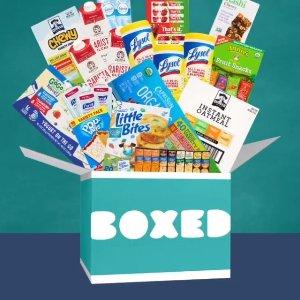 满额立享8.2折+免邮Boxed 网络仓储式超市新会员福利
