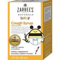 Zarbee's Naturals 宝宝咳嗽糖浆,2盎司
