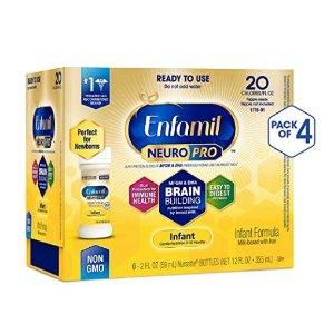 $25.98Enfamil NeuroPro 非转基因婴幼儿液体奶, 2盎司,24瓶