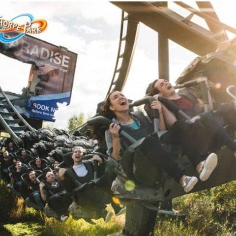 现价£45(原价£100)可带人Thorpe Park 英国主题游乐园季票 超多惊险刺激项目