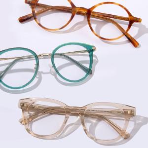 买1送1+ 额外8.5折EyeBuyDirect 时尚镜框镜片夏日大促