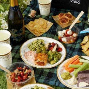 低至6折Marks&Spencer 野餐用品 可爱餐具、野餐包 美好暖阳享夏日野餐