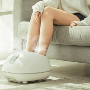 LIFEASEFoot Spa Steam Massager