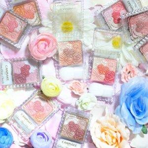 凑单必备 单盒仅$11.6CANMAKE 经典花瓣腮红 立体浮雕 美丽肌肤 持久妆容