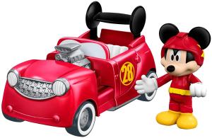 $7.47(原价$12.99)Fisher-Price 费雪 迪士尼米老鼠和他的小赛车