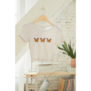 蝴蝶T恤 多色