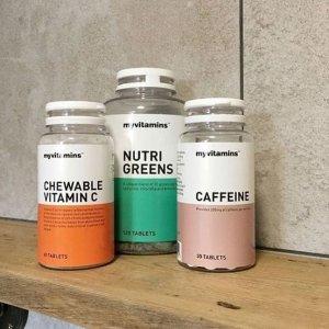 独家: 买3免1 让减肥美容更有效My Vitamins 精选美容类保健品热卖 抗老从现在做起