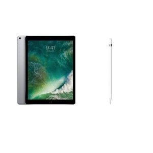 $1149(原价$1359)Apple iPad Pro 12.9吋 256GB 深空灰 + 1代手写笔