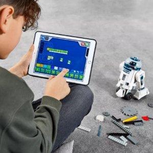 $199.99 + 免费文具礼包上新:LEGO官网 编程星战机器人套装75253 STEM玩具