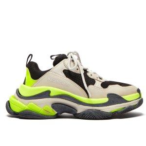 低定价$703 +可叠加首单9折Balenciaga 老爹鞋最新限量配色