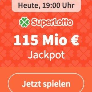 今晚开奖!新用户免费玩超级乐透SuperLotto 大奖1.15亿欧!近9亿人民币!猜对1个数字就中奖