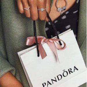 低至5折Pandora 奥莱区好物捡漏 超低价收串珠、耳饰、戒指