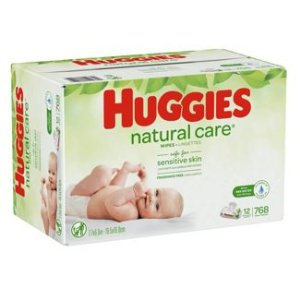 Huggies Natural Care Scented Baby Wipes Soft Pack 12 X 768ct : Target