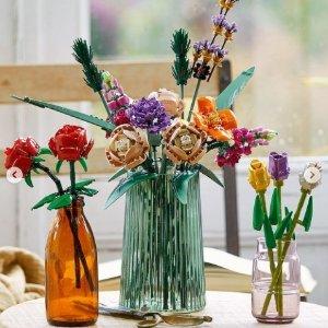 温馨提示 该存钱了上新:LEGO官网  植物插花、街景警局、复刻瓶中船、法拉利新品井喷