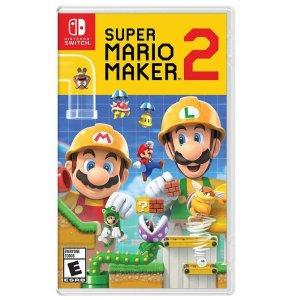 Super Mario Maker 2 - Nintendo Switch Buy 2 Get 1 Free