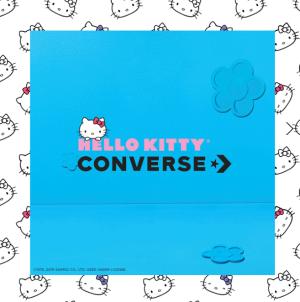 满满童心 还有卫衣可以收!Converse x Hello Kitty合作款 2019年最新花色上市