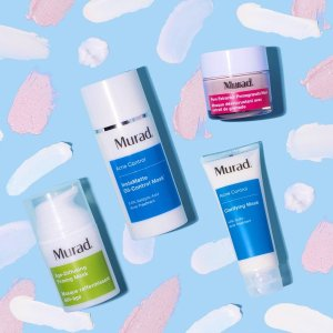 Free 5-pc GWP + Free Shippingwith $95 purchase @ Murad Skin Care