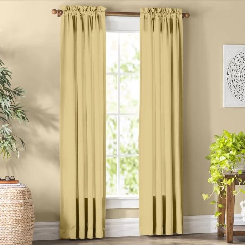 Wayfair basics Solid Room Darkening Thermal Rod Pocket Single Curtain PanelWayfair basics Solid Room Darkening Thermal Rod Pocket Single Curtain PanelRatings & ReviewsCustomer PhotosQuestions & AnswersShipping & ReturnsMore to Explore