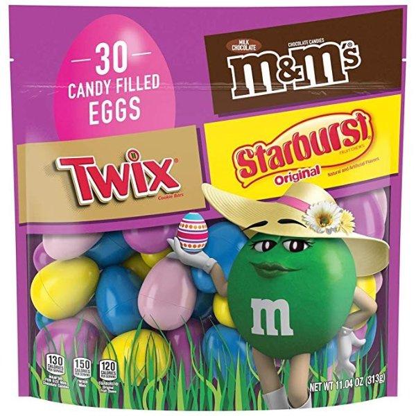 复活节彩蛋糖果巧克力混合装 30颗装