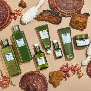 满£25送90ml菌菇水Origins 全线护肤热促 换季期间敏感肌痘痘肌的必备良药