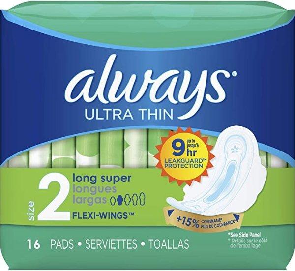 ALWAYS Ultra Thin Size 2 卫生巾 16片