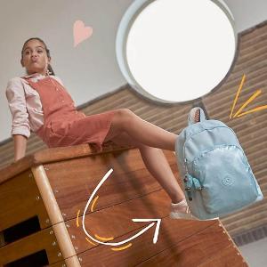 2件7.5折Kipling US 精选书包,文具袋热卖 儿童双肩包$48