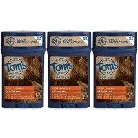 Tom's of Maine 男士止汗除臭剂 深树林味 3支装