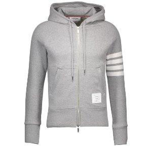 Thom Browne4-Bar zip-up hoodie