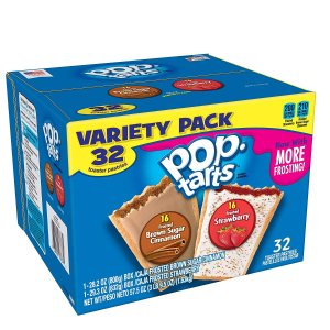 $4.89Pop-Tarts 早餐塔塔饼 红糖肉桂+草莓味混合装 32块