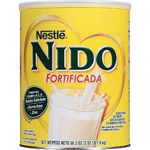 NestleNIDO 雀巢升级配方全脂罐装奶粉,3.52磅