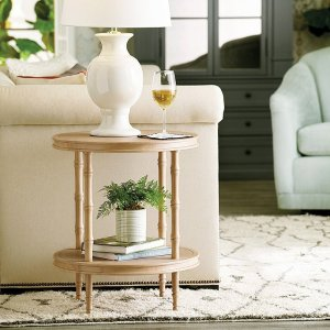 Bunny Williams Colebrook Round End Table