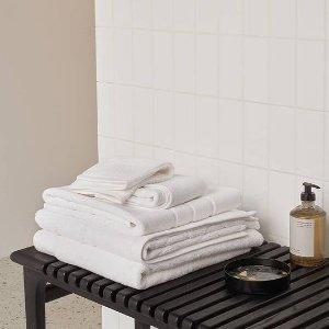 低至4折+会员免邮Sheridan 五星级毛巾折扣升级 多款材质、颜色$5.9起