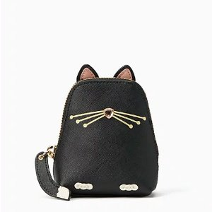 Kate Spadejazz things up cat coin purse