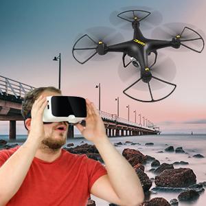 $67.98(原价$139.99)闪购:JJRC H68 远程遥控无人机,40分钟超长飞机时间,两色