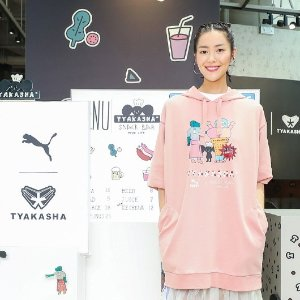 独家8折 £32即可收刘雯同系列T恤PUMA X TYAKASHA 联名款限时折上折 趣味十足