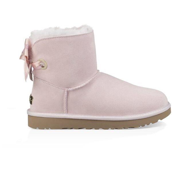 蝴蝶结雪地靴