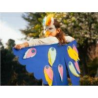 小鸟翅膀+面具制作,适合年龄3-4