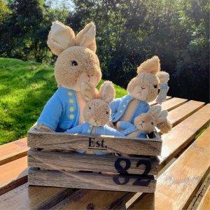 5折起+满$50送娇韵诗护肤品Beatrix Potter 超可爱毛绒玩具热卖 流传百年的童话主人公