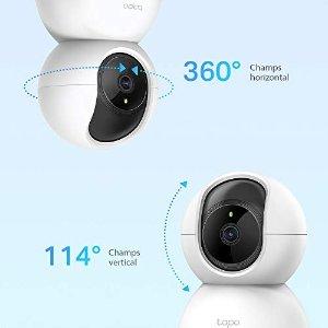 TP-LINK8.7折,1080P高清、360°全覆盖WiFi 监控摄像头