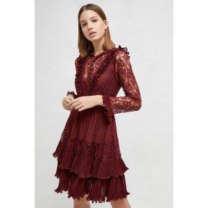 French ConnectionClandre Vintage Lace Mix Dress