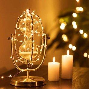 $4eufy 33 ft White LED Decorative Lights