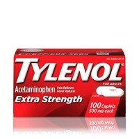 Tylenol 强效泰诺 500 mg 100粒