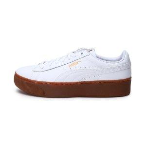 PumaVikky 厚底小白鞋
