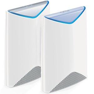 $419.89(原价$499.99)NETGEAR Orbi Pro AC3000 三频WiFi覆盖系统