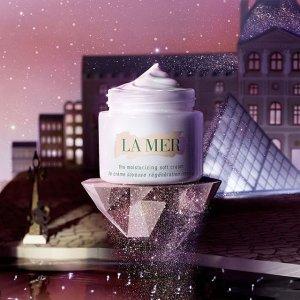 满额送神奇面霜(价值$85)La Mer官网 护肤彩妆热卖 收神奇面霜、浓缩精华