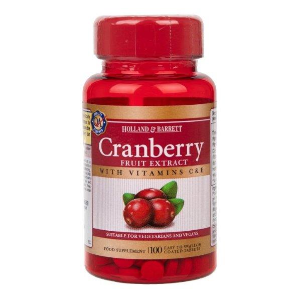 蔓越莓果实提取物100片